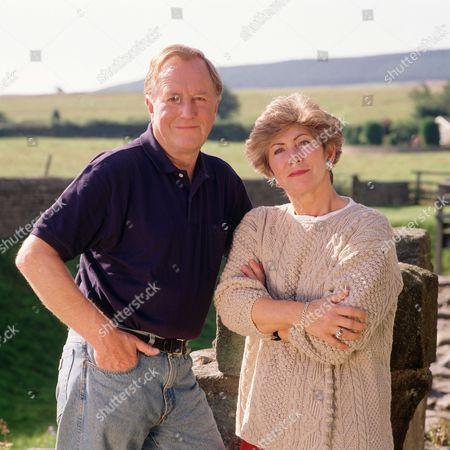 Robert Hardy and Valerie Singleton in 'Travel UK' - 1992
