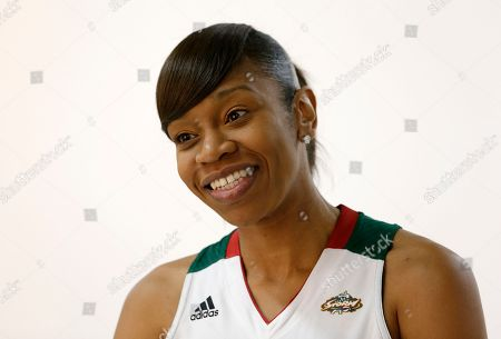 TIna Thompson Seattle Storm's Tina Thompson poses for a portrait during the team's media day in Seattle. The Storm opens their regular season Sunday, May 26, at Los Angeles