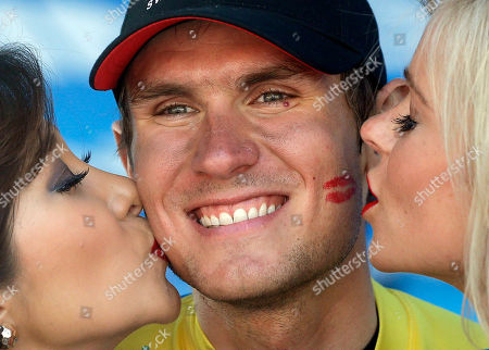Tejay Van Garderen American Tejay Van Garderen gets kissed on the podium after winning the Tour of California cycling race in Santa Rosa, Calif. Many young American riders grew up idolizing Lance Armstrong and Levi Leipheimer, and then stuck with the embattled sport through each wave of doping allegations that shook it to its very core