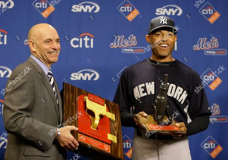 Salvatore Cassano, Mariano Rivera New York City Fire Commissioner Salvatore Cassano, left, presents New York Yankees relief pitcher Mariano Rivera with a fire call box before an interleague baseball game against the New York Mets at Citi Field in New York, . Rivera, who has said he is retiring at the end of this season, is on a farewell tour