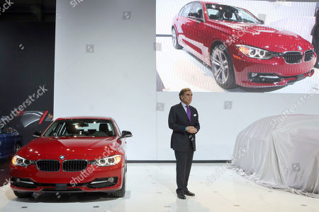Ludwig Willisch BMW of North America CEO Ludwig Willisch unveils the BWW 2014 328d during the New York International Auto Show, in New York's Javits Center, in New York