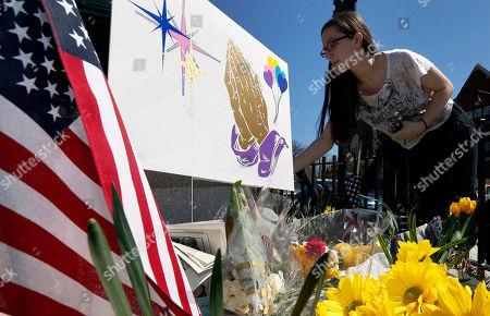 Editorial photo of Boston Marathon Explosions, Boston, USA