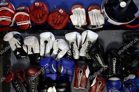 Danny Garcia Shown is equipment before a boxer Danny Garcia workout for the media, in Philadelphia. Garcia is scheduled to fight Zab Judah on April 27 in New York