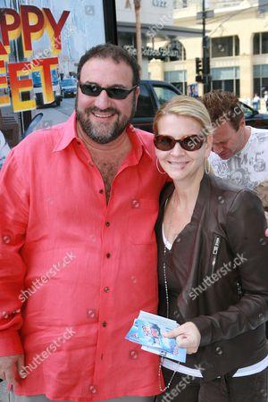 Joel Silver and Karyn Fields