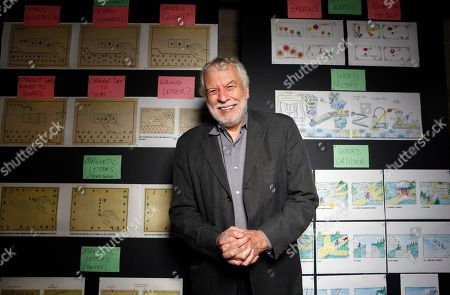 """Nolan Bushnell Nolan Bushnell, the founder of Atari poses for a photo at """"Two-Bits-Circus,"""" a Los Angeles idea factory focused on software, hardware and machines. Bushnell was the first guy to give Steve Jobs his first full-time job in Silicon Valley at Atari"""