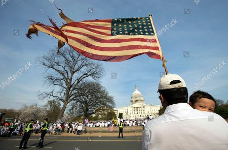 Editorial photo of Immigration Reform, Washington, USA