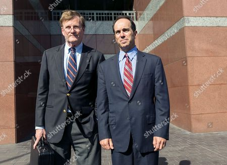 Scott London, Harland Braun Former Senior KPMG auditor Scott London, right, and his attorney, Harland Braun, leave the Los Angeles Federal Court on . Federal prosecutors and the Securities and Exchange Commission on Thursday filed criminal and civil charges against London, 50, of Agoura Hills, Calif., for conspiracy to commit securities fraud through insider trading. The criminal complaint alleges that London provided confidential information about KPMG clients Herbalife Ltd., Skechers USA Inc., Deckers Outdoor Corp., RSC Holdings and Pacific Capital to Bryan Shaw, a close friend, from late 2010 until last month