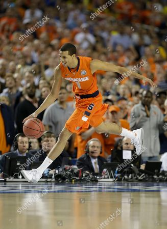 Michael Carter-Williams Syracuse's Michael Carter-Williams (1) during the first half of the NCAA Final Four tournament college basketball semifinal game against Michigan, in Atlanta