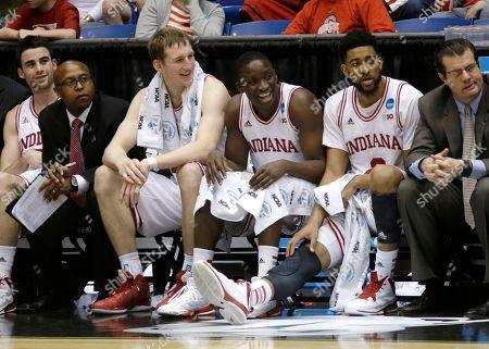Editorial image of NCAA James Madison Indiana Basketball, Dayton, USA