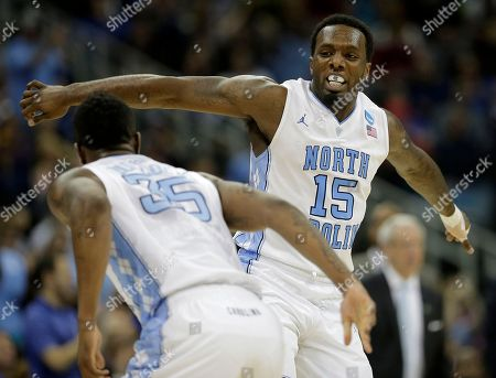 P.J. Hairston North Carolina guard P.J. Hairston (15) celebrates with guard/forward Reggie Bullock (35) after Hairston made a basket during the second half of a second-round game against Villanova in the NCAA college basketball tournament, in Kansas City, Mo
