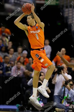 Michael Carter-Williams Syracuse guard Michael Carter-Williams (1) passes the ball during the second half of the East Regional final in the NCAA men's college basketball tournament, in Washington