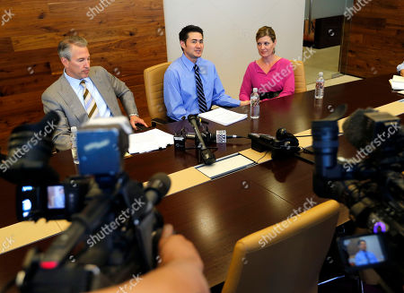 Thomas Beatie, Amber Nicholas, David Michael Cantor Thomas Beatie, center, and his girlfriend Amber Nicholas, listen as attorney David Michael Cantor speaks, in Phoenix. Thomas Beatie was born a woman and later underwent a double-mastectomy and began testosterone hormone therapy and psychological treatment to become a man but retained female reproductive organs and gave birth to three children. A judge ruled last week that the state's ban on same-sex marriages prevents Thomas' marriage from being recognized as valid