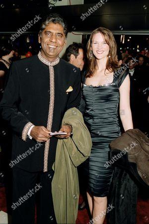 Vijay Amritraj and guest
