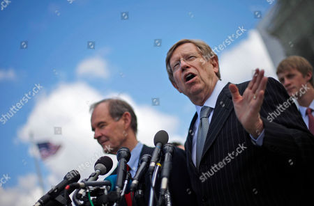Theodore Olson, David Boies Plaintiff attorneys Theodore Olson, right, and David Boies, meet with the media outside the Supreme Court in Washington, after the court heard arguments onr California's voter approved ban on same-sex marriage, Proposition 8
