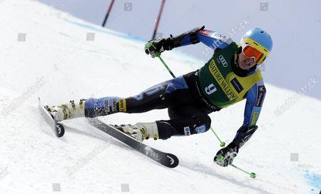 Editorial image of US Alpine Ski Championships Skiing, Squaw Valley, USA