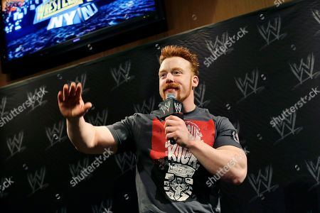 Stephen Farrelly Stephen Farrelly, of Ireland, known as Sheamus, answers a question during a news conference before the WWE Wrestlemania 29 wrestling event, in East Rutherford, N.J