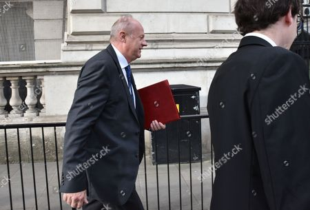 Damien Green. Cabinet ministers at Downing Street.
