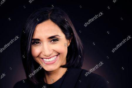 Editorial photo of Narges Rashidi photo shoot, Los Angeles, USA - 05 Oct 2016