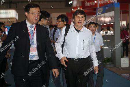 Editorial photo of International Advanced Carbon Materials Exposition, Qingdao, Shandong Province, China - 22 Sep 2016