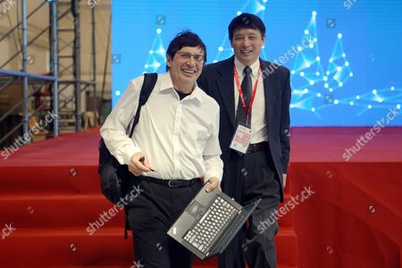 Stock Image of Andre Geim