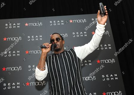 Sean Combs Sean Combs launches his new fragrance, Sean John, at Macy's Herald Square, in New York