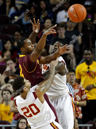 Editorial picture of Arizona St. USC Basketball, Los Angeles, USA
