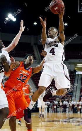 Editorial image of Auburn Mississippi St Basketball, Starkville, USA
