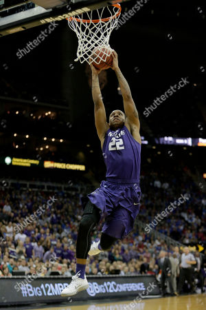 Rodney McGruder Kansas State guard Rodney McGruder (22) dunks the ball during the first half of the championship NCAA college basketball game against Kansas in the Big 12 men's tournament, in Kansas City, Mo