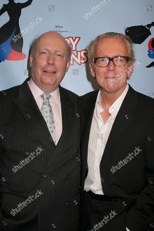 Julian Fellowes and Bob Crowley