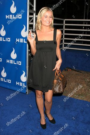 Editorial picture of Helio launch of new mobile phone 'Drift from Samsung', Los Angeles, America - 13 Nov 2006