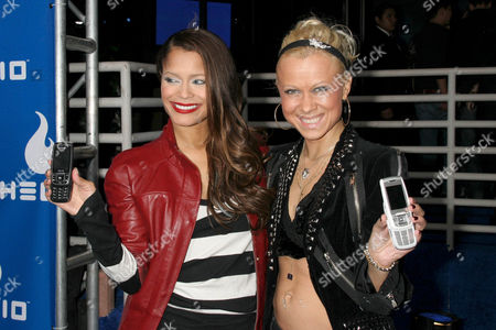 Blu Cantrell and Oksana Baiul