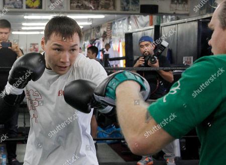 Ruslan Provodnikov Ruslan Provodnikov works out with trainer Freddie Roach, in Los Angeles. Provodnikov is scheduled to fight Timothy Bradley Jr. for his WBO welterweight boxing title on March 16 in Carson, Calif