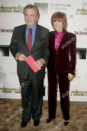 Stock Picture of Robert Wagner and Jill St. John