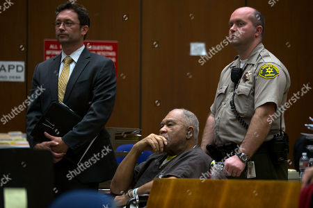 Samuel Little appears in a courtroom for his arraignment in Los Angeles. Little, 72, awaits trial in Los Angeles, as authorities in numerous jurisdictions in California, Florida, Kentucky, Missouri, Louisiana, Texas, Georgia, Mississippi and Ohio are scouring their own cold case files for possible ties to Little. One old murder case, in Pascagoula, Miss., already has been reopened. DNA results are pending in some others. Little's more than 100-page rap sheet details crimes in 24 states spread over 56 years, mostly assault, burglary, armed robbery, shoplifting and drug violations. But Los Angeles detectives allege he was also a serial killer, who traveled the country preying on prostitutes, drug addicts and troubled women