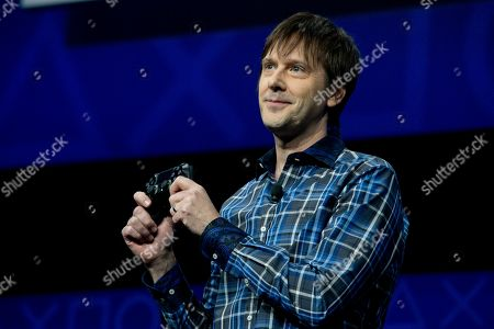 Mark Cerny Mark Cerny, lead system architect for the Sony Playstation 4 speaks during an event to announce the new video game console, in New York