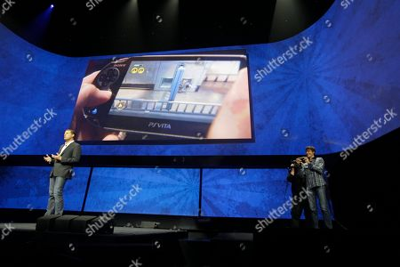 David Perry David Perry, CEO of Gaikai, left, speaks as Mark Cerny, demonstrates remote game play on the PSVita during a news conference to announce the Sony Playstation 4, in New York