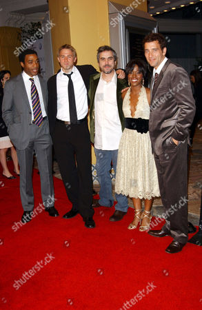 Chiwetel Ejiofor, Charlie Hunnam, Alfonso Cuaron, Clare-Hope Ashitey and Clive Owen
