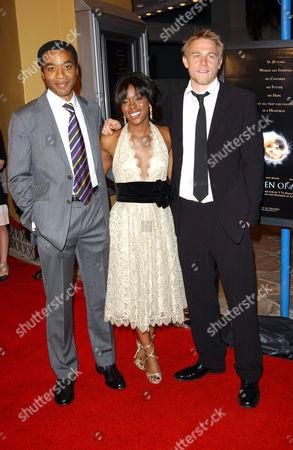 Chiwetel Ejiofor, Clare Hope Ashitey and Charlie Hunnam