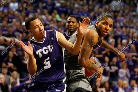 Rodney McGruder, Kyan Anderson Kansas State guard Rodney McGruder (22) tries to get by TCU guard Kyan Anderson (5) during the second half of an NCAA college basketball game in Manhattan, Kan., . Kansas State defeated TCU 79-68