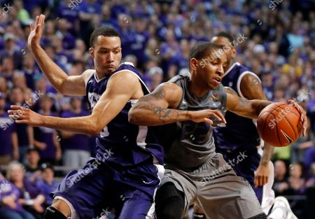 Rodney McGruder, Kyan Anderson Kansas State guard Rodney McGruder, right, works against TCU guard Kyan Anderson, left, during the second half of an NCAA college basketball game in Manhattan, Kan., . Kansas State defeated TCU 79-68