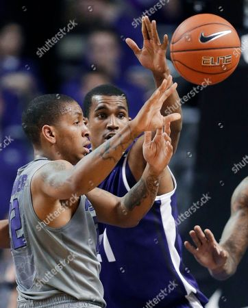Rodney McGruder, Nate Butler Lind Kansas State guard Rodney McGruder (22) passes to a teammate while covered by TCU guard Nate Butler Lind (21) during the first half of an NCAA college basketball game in Manhattan, Kan