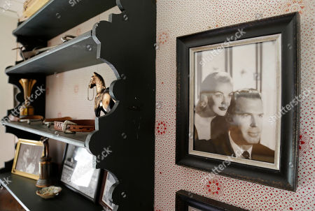 """Fred MacMurray, June Haver A photograph of actor Fred MacMurray and his actress wife June Haver hangs in an upstairs room of MacMurray's home at the MacMurray Ranch in Healdsburg, Calif. The former cattle ranch, which was purchased in 1941 by the actor in the popular TV series """"My Three Sons,"""" now produces wine and is owned by the Gallo wine family"""