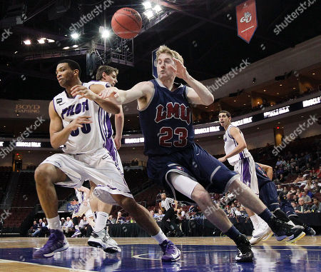 Editorial photo of WCC Loyola Marymount Portland Basketball, Las Vegas, USA