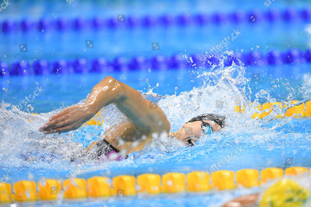 Jessica Long (USA) - Swimming :  Men's 400m Freestyle S8 Final   at Olympic Aquatics Stadium during the Rio 2016 Paralympic Games in Rio de Janeiro, Brazil.