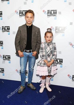 Daniel Huttlestone and Anya McKenna-Bruce