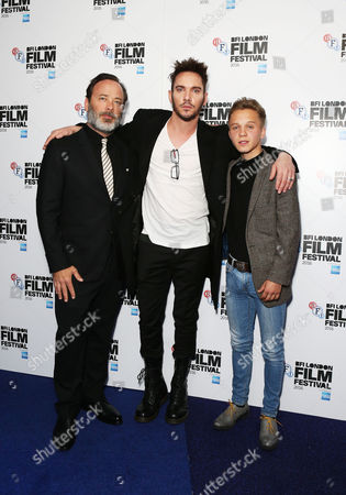 Derrick Borte (Director), Jonathan Rhys Meyers and Daniel Huttlestone