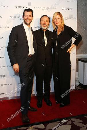 Tom Butterfield (Producer), Derrick Borte (Director) and Sofia Sondervan (Producer)