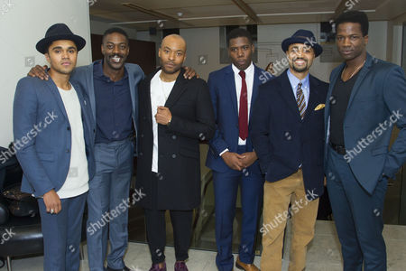 Josh Williams (Jamaal), David Ajala (Jim Brown), Arinze Kene (Sam Cooke), Dwane Walcott (Kareem), Francois Battiste (Malcolm X) and Sope Dirisu (Cassius Clay)