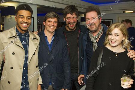 Asan N'jie, Nigel Harman (Director), Adrian Bower, Daniel Ryan and Nicola Millbank