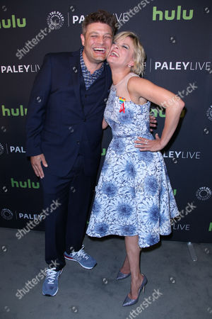 Jay R Ferguson and Martha Plimpton